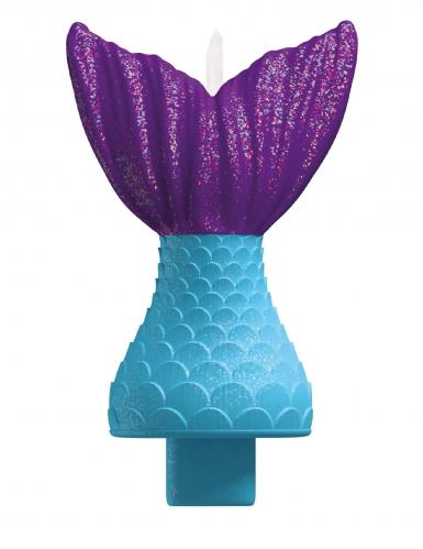 Bougie queue de sirène rêves de sirène 13 cm