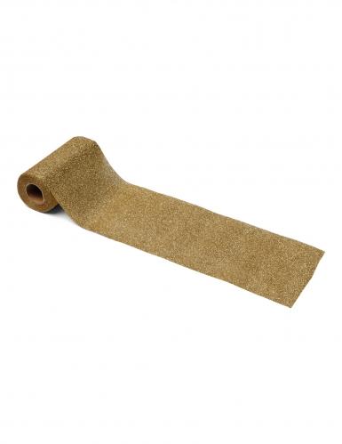 Ruban étincelant paillettes or 10 cm x 6 m