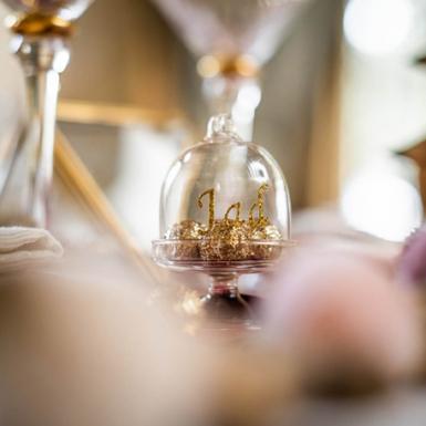 Mini cloche en verre 5,5 x 8 cm-1