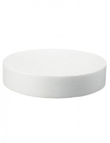 Disque en polystyrène 5 x 25 cm