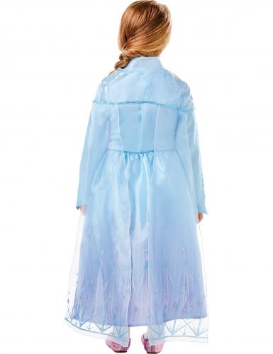 Déguisement luxe Elsa La Reine des neiges 2™ fille-1