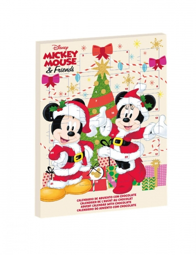 Calendrier De Lavent Soy Luna.Calendrier De L Avent Mickey Minnie 50 Gr