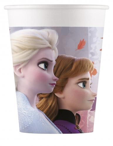 8 Gobelets en carton La Reine des Neiges 2™ 200 ml