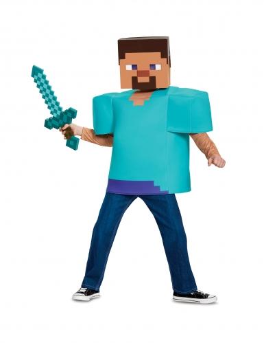 Déguisement Steve Classique Minecraft™ enfant-2