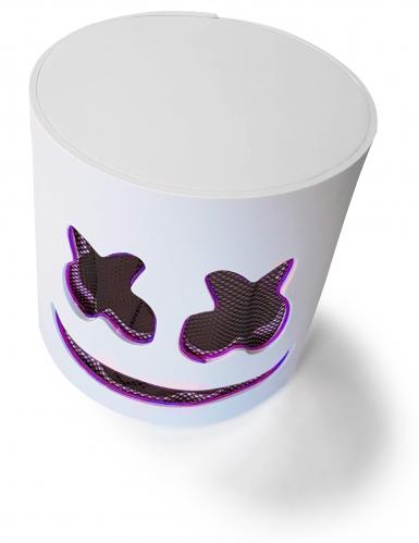 Masque DJ guimauve led violet adulte-4