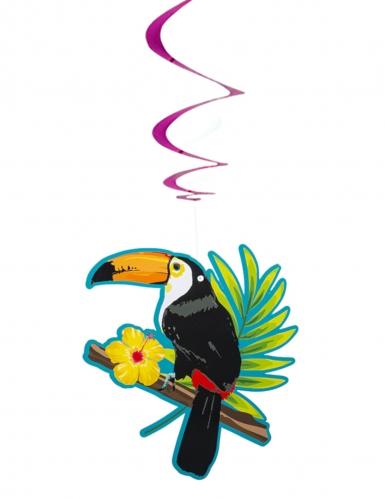 2 Suspensions spirales toucan 85 cm-1