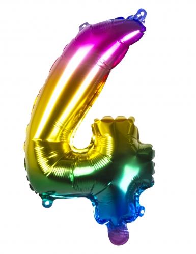 Ballon aluminium multicolore 36 cm-4