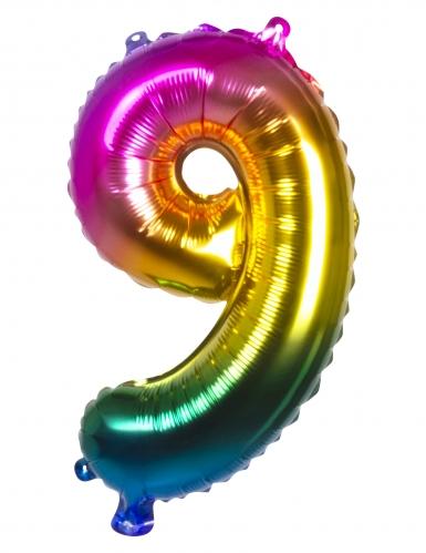Ballon aluminium multicolore 36 cm-9