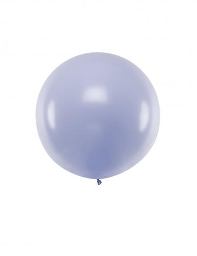 Ballon en latex géant lilas 1 m
