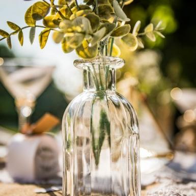 Bouquet feuilles eucalyptus vert 35 cm-1