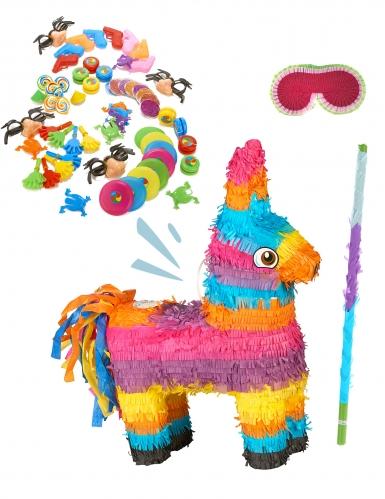 Kit piñata Âne multicolore