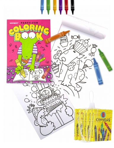 Kit coloriages enfants