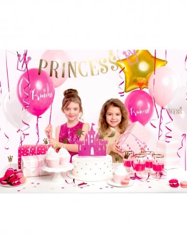 Kit décoration anniversaire princesse 31 pièces-1