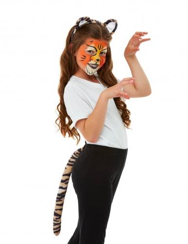 Kit maquillage et accessoires tigre enfant-4