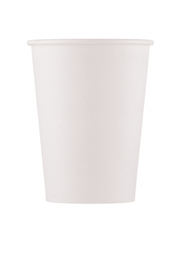 10 Gobelets en carton home compostable blancs 200 ml