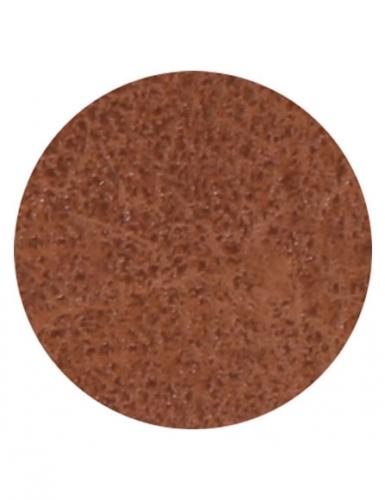 Kit bracelet à broder cuir marron motif étoile-3
