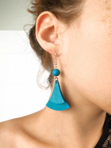 Kit création de bijoux parure turquoise 12,5 x 13 cm-3