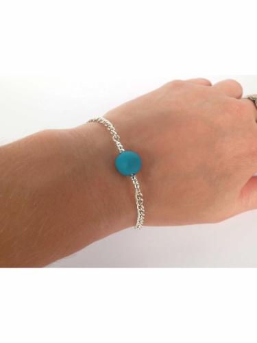 Kit création de bijoux parure turquoise 12,5 x 13 cm-4