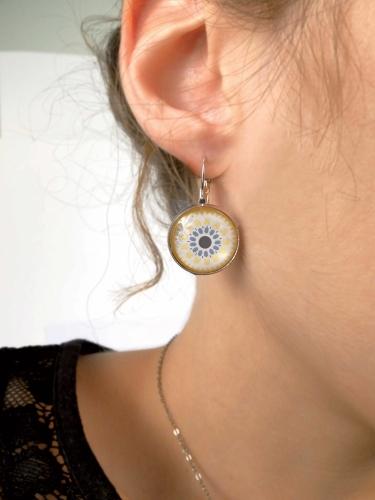 Kit création de bijoux parure colorée 12,5 x 13 cm-2
