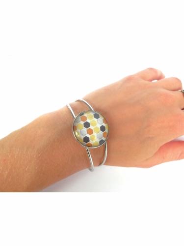 Kit création de bijoux parure colorée 12,5 x 13 cm-3