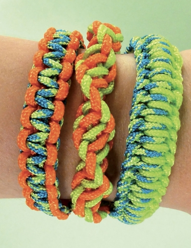 Kit Créacord® bracelets Tropiques 11 x 13 cm-3