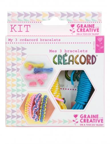 Kit Créacord® bracelets Arc-en-ciel 11 x 13 cm