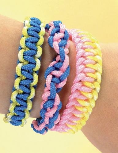 Kit Créacord® bracelets Arc-en-ciel 11 x 13 cm-3