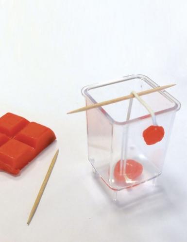 Kit création de bougies romantiques pastel 19,5 x 27,5 cm-2