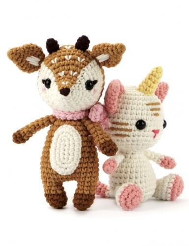 Kit crochet biche 17 cm-3