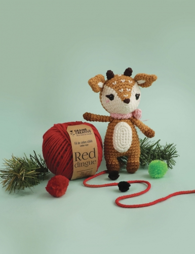 Kit crochet biche 17 cm-4
