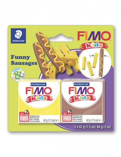 Kit pâte FIMO® Saucisses frites