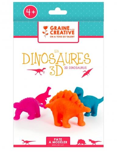 Kit modelage dinosaures 3D 16 x 25,5 cm-1