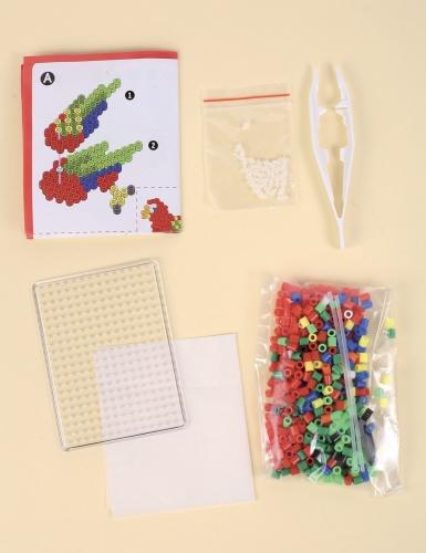 Kit perles à repasser 3D Perroquet-2