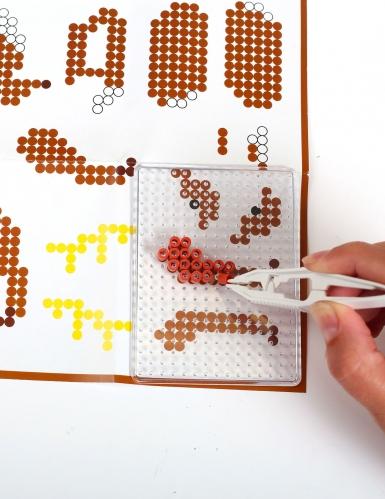 Kit perles à repasser 3D Singe-2