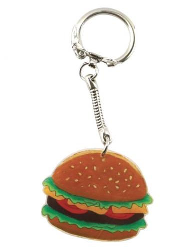 Kit plastique dingue 6 porte-clefs Junk food-1