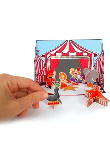 Kit plastique dingue cirque 3D avec découpe-4