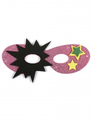 12 Masques en caoutchouc souple super héros-4