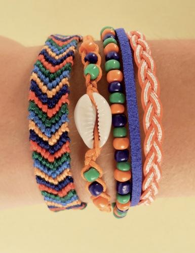 Kit bracelets à assembler Tropiques 11 x 13 cm-3