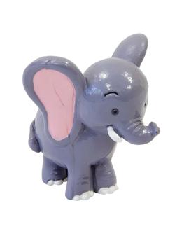 Figurine en résine Eléphant 5,5 cm x 4,6 cm