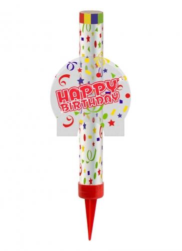 Fontaine de glace Happy Birthday 12 cm
