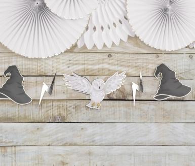 Guirlande en carton apprenti sorcier 3 m