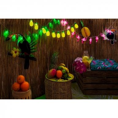 Guirlande lumineuse cactus 140 cm-3