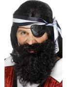 Barbe pirate noire adulte