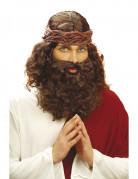 Perruque avec barbe de prophète homme