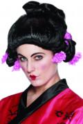 Perruque geisha femme