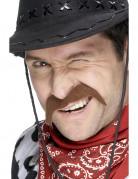 Moustache cowboy adulte