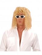 Perruque blonde de chanteur adulte