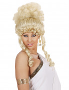 Perruque déesse blonde femme