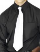 Cravate blanche adulte