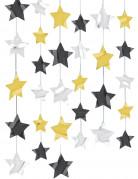 6 Décorations à suspendre étoiles